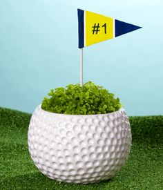 centerpieces with golf balls | Flowers • Plants • Gifts