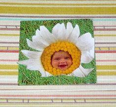 @Rebecca Snow @createstuff #30daysofcreativity #day6 A cut and paste inchie. Photograph by Anne Geddes