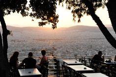 Αθήνα: 20 μέρη για στιγμές χαλάρωσης με υπέροχη θέα! Athens, Kai, Greece, Dolores Park, City, Islands, Traveling, Colors, Food