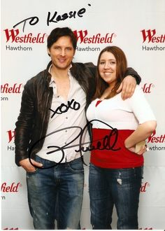 Meeting Peter Facinelli for the first time. Hellz to the yeah!