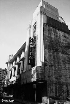 Capitol Theater right at the heart of Escolta Walking Tour, Manila, Theater, Broadway Shows, Tours, Spaces, Heart, Pictures, Shooting Guard