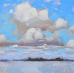 Clouds Over Water, by Carol Marine