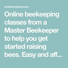 Online beekeeping classes from a Master Beekeeper to help you get started raising bees. Easy and affordable you can watch anytime. Shade Perennials, Shade Plants, Chicken Tractors, Farm Chicken, Shade Grass, Raising Bees, Worm Farm, Worm Composting, Backyard Farming