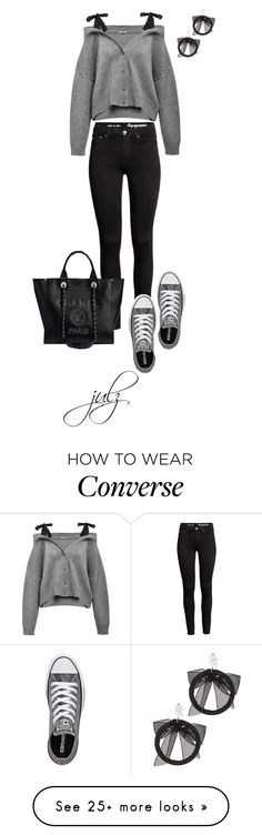 """""""Untitled #1470"""" by julz28520 on Polyvore featuring Converse and Fallon"""