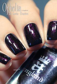 A England  Ophelia....hamlet nail polish