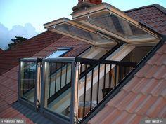 Балкон и Терраса Velux