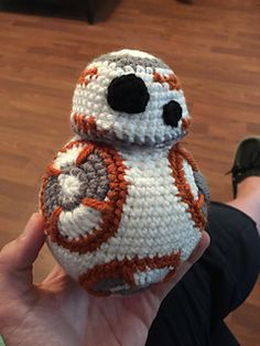 BB-8 inspired by Star Wars: The Force Awakens