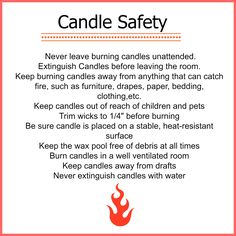 Candle Safety Fire Safety Tips, Candle Warmer, Burning Candle, Wax Melts, Candle Making, Scentsy, Burns, Candles, Homestead