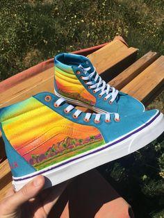 ART  Custom Coachella Vans inspired by the lineup poster https   ift 28746706c12