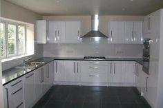 New Homes for Sale in Woodford Green Kitchen Ceiling Design, Luxury Kitchen Design, Kitchen Room Design, Contemporary Kitchen Design, Kitchen Layout, Interior Design Kitchen, Kitchen Cupboard Designs, Kitchen Modular, Cuisines Design