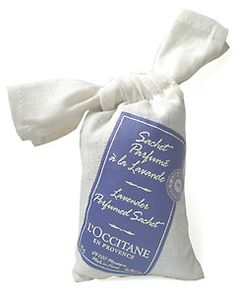 Lavender Scented Sachet: Keep your clothes smelling sweet with these lavender sachets, which retain their deodorizing power even longer than cedar. LOccitane.com, $8