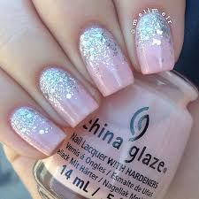 Image result for how to glitter fade nails
