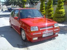 Modified Renault R5 GT Turbo 1989