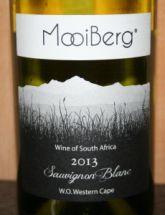 Mooiberg Sauvignon Blanc 2013, W.O. Western Cape, Zuid-Afrika -