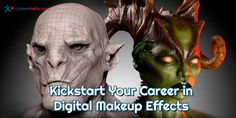 If you're curious where a diploma from the Digital Effects Artist Program at CMU College can take you, the only thing you need to answer is, am I ready to change my life in just 17 weeks? Career Options, Career Opportunities, Career Change, Change My Life, Digital Sculpting, Video Game Development, Career Planning, Special Effects Makeup, Pen And Paper