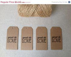 ON SALE DIY Printable Wedding Favor Tags Mason Jar by kismetologie, $4.50