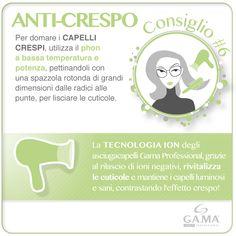 Umidità e #capelli crespi? Con la tecnologia a ioni dei #phon Gama Professional mantieni i tuoi capelli morbidi e luminosi! /// Frizzy hair? Here are Gama's tips for soft and shiny har, thanks to the ION technonogy of our #hairdryers!  www.gamaprofessional.it/Asciugacapelli/Compact_Ion_Nero  #gamaconsiglia #gama #gamaitalia #gamaprofessional #asciugacapelli #hair #dryer #dryers #hairdryer #blowdry #beautytechnology #hairtips #tips #howto #tutorial #frizzyhair #capellicrespi #blowdryer