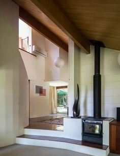 Ema Scott reflects on the ideas and process behind her father, John Scott, designing their beloved family home that was also his last ever project John Scott, Mid Century Living Room, Inside Home, Concrete Blocks, Modern House Design, House Tours, Interior Architecture, Home And Family, Father John
