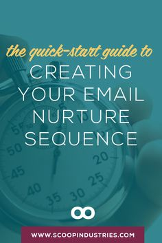 Nurture your Email List    The job of your nurture sequence is to woo your email subscribers so they can build on what they learned with your opt-in and then to provide them with a way to get to know, like and trust you. This *pinnable* quick start guide will help you get started using ConvertKit.
