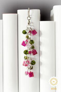Metall - Lesezeichen ● Abstrakte Blumen ● Feder ♥ - ein Designerstück von SchmettAlinchen bei DaWanda