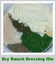 Make Your Own Dry Ranch Dressing Mix
