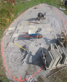 Installing Your Own Stone Patio Using Flagstone, Brick Or Patio Pavers