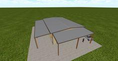 3D #architecture via @themuellerinc http://ift.tt/2acPUHm #barn #workshop #greenhouse #garage #DIY