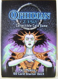 NIB Ophidian Card game 60 card starter set by Hack and Slash games #HackandStash
