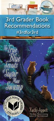 3rd Grader Book Recommendation: True Blue Scouts of Sugar Man Swamp | The Logonauts#3rdfor3rd recommended by third graders for other third graders