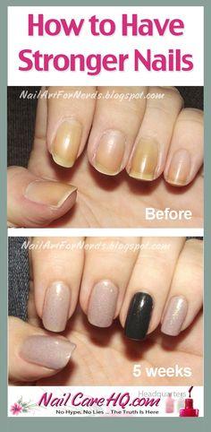 25 Best * Get Longer, Stronger Fingernails images | Nail oil, How to ...