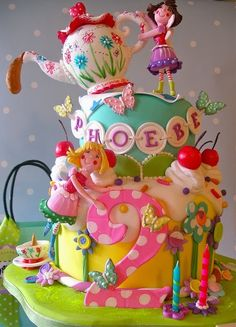 Bird House Diaries: Tutorial: Dowelling a Cake
