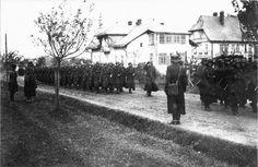 """Část polské 10. pěší pluk koně po operaci """"Zaluzha"""""""