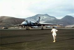 On this day..... At the end  of April 1982, three of Waddington's Vulcans had deployed to Ascension Island and on 1st May, a single Vulcan (supported by 13 Victor tankers) attacked the  Argentinian held airfield at Port Stanley in the Falkland Islands. Just one bomb hit carried by XM607 hit the runway, but the strategic effects were huge - the Argentinian air forces immediately re-deployed its defensive fighter force to the Argentinian mainland to defend its airfields there, thereby…