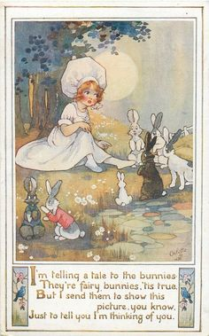 I'M TELLING A TALE TO THE BUNNIES