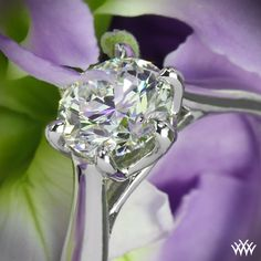 Royal Crown Solitaire Engagement Ring by Vatche with a 1.13ct A CUT ABOVE