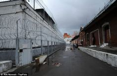 The grim-looking exterior of Butyrka remand prison where Sergei Magnitsky was severely maltreated