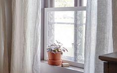 Päästä valo sisään mutta vältä naapureiden uteliaat katseet helppotekoisen verhokehikon avulla.