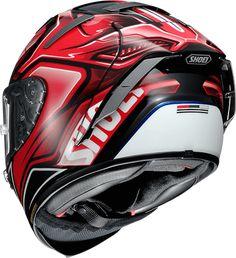 Custom Bike Helmets, Motorcycle Helmets, Custom Bikes, Hd 883 Iron, Shoei Helmets, Full Face Helmets, Sportbikes, Helmet Design, Motogp