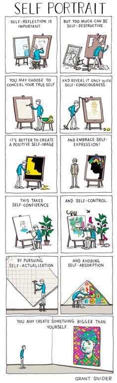 Self Portrait — Who Needs Art? — Medium