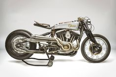 """Milan's South Garage Motorcycles have built a solid reputation as a speed shop for Bonnie and V7 riders. But they also build complete bikes, like this Harley Sportster called 'Opera.' Our man Matt Neundorf has been poring over the details ever since he first stumbled across it. """"It's like a mash-up of styles between Rad Yamamoto of Ask Motorcycles and Max Hazan. South Garage have created something very special indeed."""""""