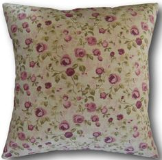 Cushion Covers made with Clarke and Clarke Maude Mulberry Purple Floral Cushions Pink Pillows, Floral Throw Pillows, Cushion Covers Uk, Pillow Covers, Clarke And Clarke Fabric, Floral Throws, Mauve, Quilts, Quilt
