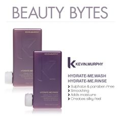 DID YOU KNOW? The winter months can be very drying on your hair. If you are experiencing dry, dull, or static-filled hair try Kevin.Murphy Hydrate-Me.Wash & Hydrate-Me.Rinse to hydrate your thirsty hair without adding any weight. Remember to ask your stylist for the cure to dry, winter hair. #beautybytes