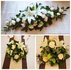Esküvői asztaldíszek Wedding Table, Floral Wreath, Wreaths, Table Decorations, Home Decor, Homemade Home Decor, Flower Crowns, Door Wreaths, Wedding Drink Table