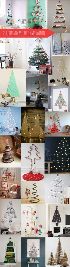 Inspiração para a árvore de Natal