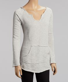 Heather Gray Henley | Daily deals for moms, babies and kids