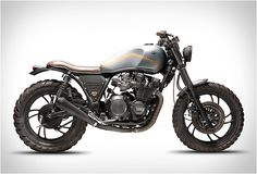YAMAHA XJ750 | BY DREAM WHEELS HERITAGE #streettracker | caferacerpasion.com