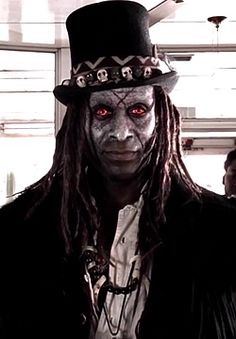 Papa Legba. I'd love to see this costume for Halloween!