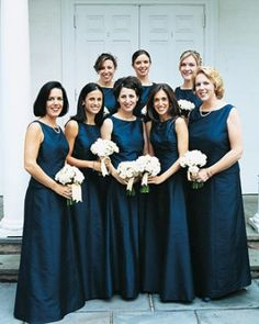 "See the ""Navy Bridesmaid Dresses"" in our  gallery"