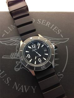 Jaeger Lecoultre Diving auto Navy seals limited (and yes, it's an obsession!)