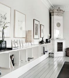 Loving the light-filled, neutral Copenhagen home     of Danish fashion designer Susanne Rutzou -                  ...